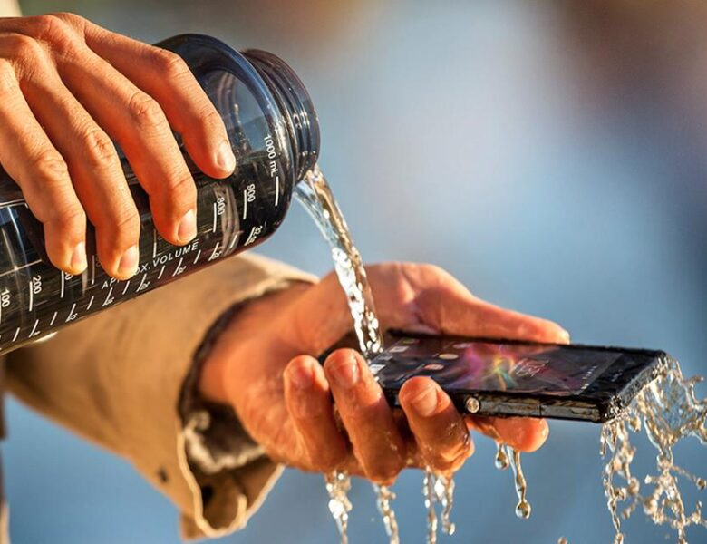 Un smartphone waterproof par Sony