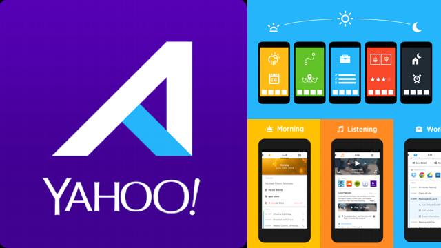 Yahoo Aviate, Un launcher Android qui a de la classe