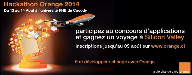 Les échos du Hackathon Orange 2014