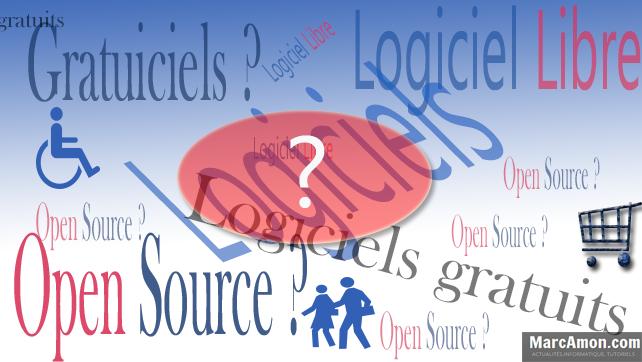 Logiciel libre, logiciel gratuit et l'Open Source