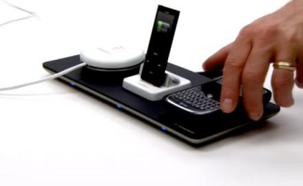 Recharger des téléphones mobiles sans fil
